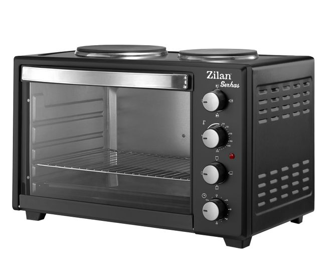 Zilan Table Top Electric Oven Serhas with hot plates