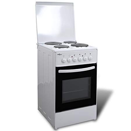 Mercury Electric Cooker with 4 Hot Plates 50x60cm