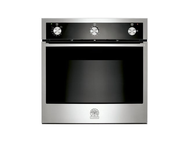 La Germania Built in Gas Oven S/Steel and black