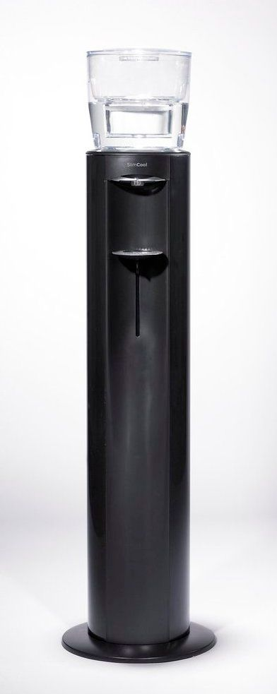 Ebac SlimCool Water Cooler Column - available silver/black or black