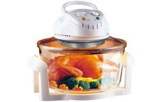 Micron Electric Convection Oven with Glass Bowl