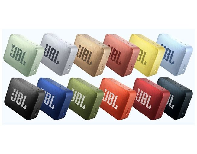 JBL GO 2 Waterproof Portable Bluetooth Speaker (Various Colours Available)