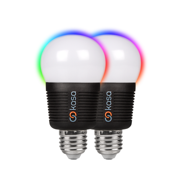 Veho Kasa Bluetooth Smart LED Light Bulb – E27 Twin Pack