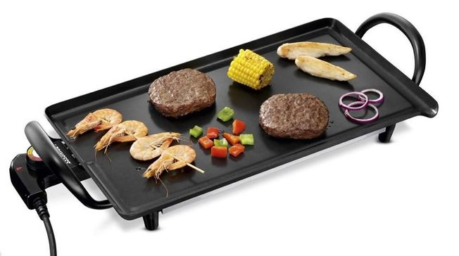 Princess Economy Table Chef Electric Grilling Plate