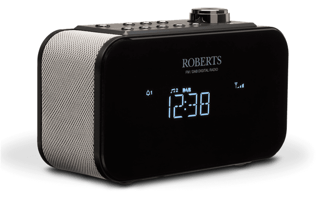 Roberts Ortus 2 DAB+ Alarm Clock Radio with Mobile Phone Charger