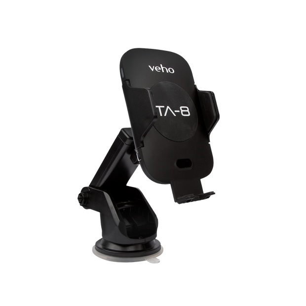 Veho Universal in-car smartphone cradle with Qi wireless charging TA8