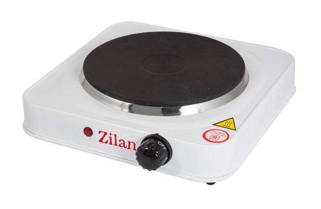 Zilan Single Electric Hotplate White
