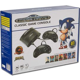 Sega Mega Drive Classic Game Console 81 Built-in Games