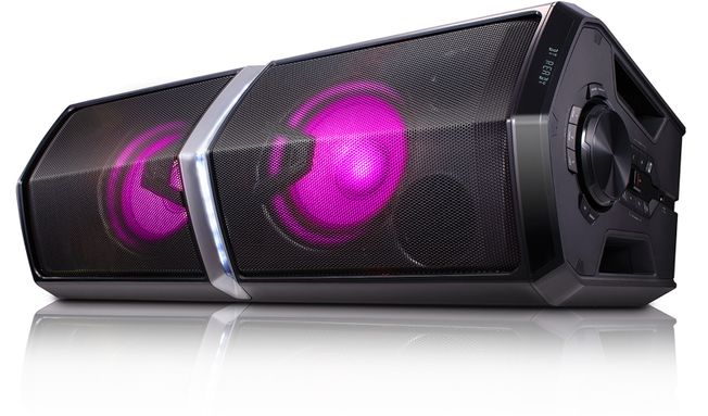 LG XBOOM FH6 Speaker with changing colour lights