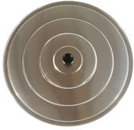 Aluminium all-purpose lid - sizes 36cm, 40cm, 45cm, 50cm, 60cm, 70cm