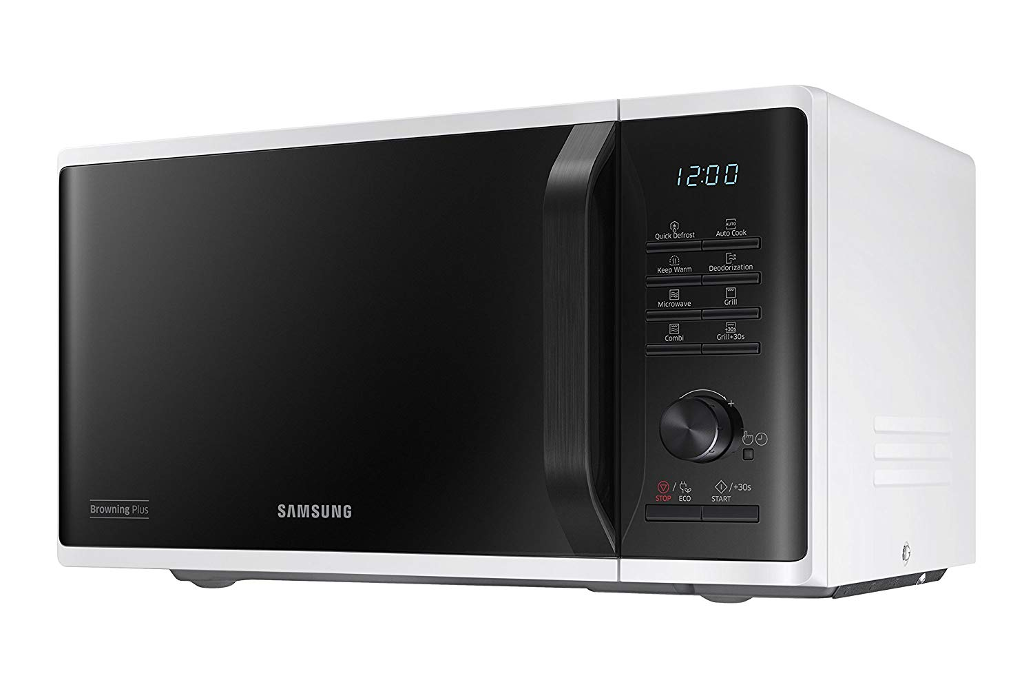 Samsung Microwave with Grill 23Ltrs 800W MG23K3515AW