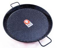 Enamelled steel paella pan - sizes 42cm, 50cm, 60cm, 70cm