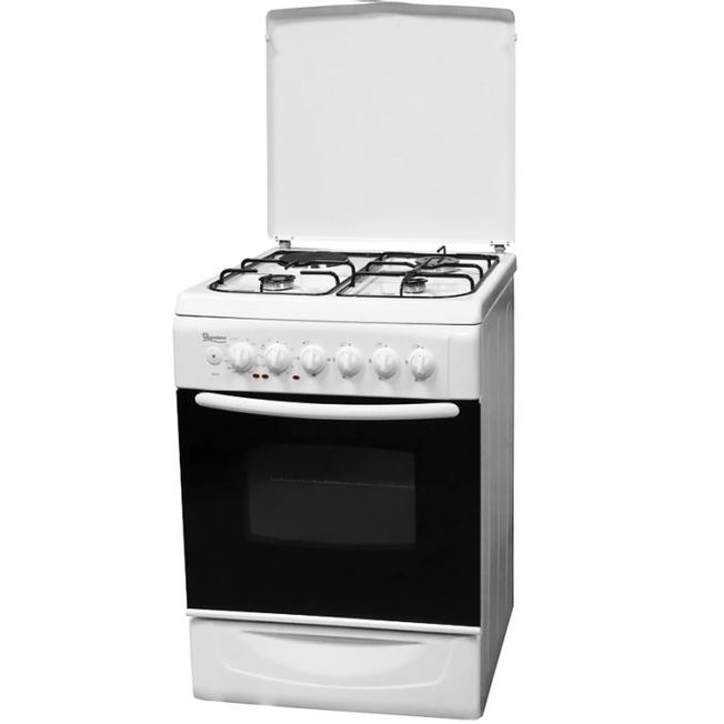 Mercury Gas Cooker with Grill 60x60cm